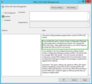 Updating Office 365 Pro Plus with Microsoft Intune « Sun Behind the