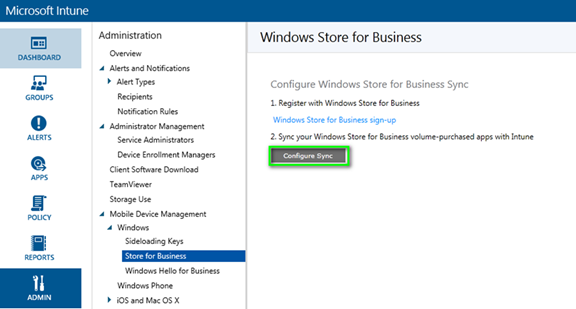 Managing Windows Store for Business Apps with Microsoft